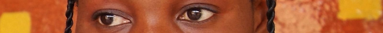 Eyes of Ilira, Conakry, Guinea.