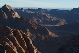 Valley desert Sinai.