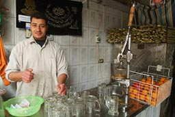 Orange juice vendor Cairo.