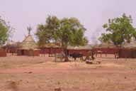 Village in Sahel Niger.