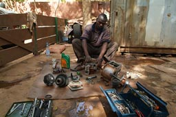 My Mechanic Issa Diara, Bamako.