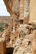 Old Telly settlement, graneries in Dogon cliff.