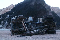 Bad tanker explosion, accident, road Sinai.