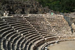 Roman theater, bet Shean, Israel.