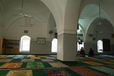 Mosque in Nabi Musa.