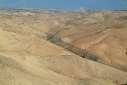 Desert mountains, Amman.