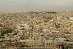 Aleppo view from citadel.