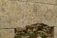 imprints, Kafar Nabo, engravings, lost city Syria.