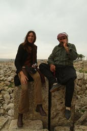 Mahmoud and Christina, village of Kfar Nabo, Syria.