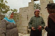 Mahmoud and wife, Kfar Nabo, Syria.