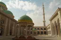 Newly constructed huge mosque, Aleppo.