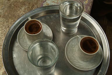 Arab/Turkish coffee.