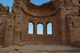 Apse church Resafa, Syria.