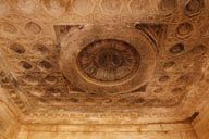 Ceiling in Temple of Bel. Palmyra.