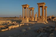 Tetrapylon Palmyra later.