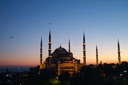 Sultan Ahmed mosque Istanbul.