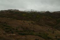 Anatolia, snow on mountains.