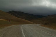 Bend in road Erzurum to Ispir.