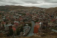 Bayburt, view from top, Coruh.