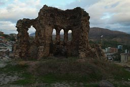 Ispir castle, Turkey, church ruins?