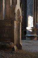 Detail, column, Osvank Georgian church, Turkey.