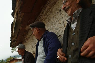 Bulanik Köyü, 3 men. Turkey.