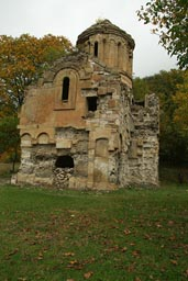 Frail ruin of Yeni Rabat church, Turkey.