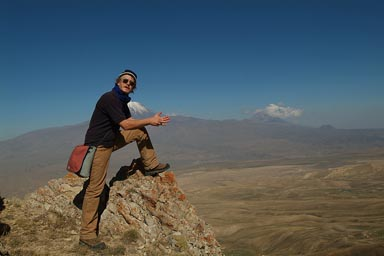 Me as if climbed Ararat.