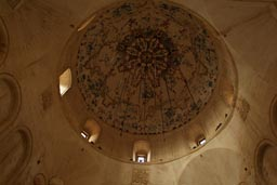 Ishak Pasa Palace mosque, dome, inside.