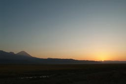 Sunrise over Lesser Ararat.
