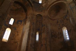Frescoes in Akhdamar church.