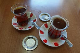 Cay, Turkish tea.