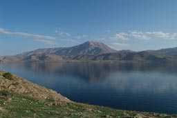 Lake Van as seen from Akhtamar Island.