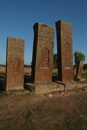 Tombstones Ahlat, Lake Van, Turkey.