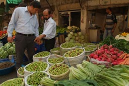 Mardin, Turkey, olives.