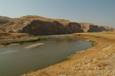 Tigris River in Turkey.