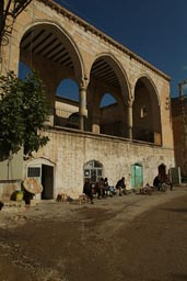 Hani, old mosque and cafe, Turkey.
