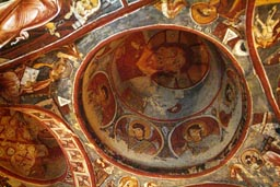 Amazing Frescoes, Cave churches Goereme, Cappadocia.