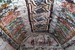 Cave church frescoes. Cappadokia.
