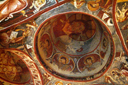 Frescoe, dome, rock church, Goerem.
