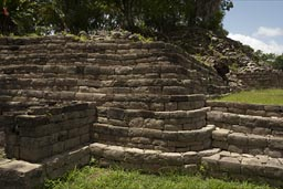 Maya site Lubaantum in Belize.
