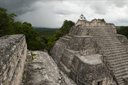 Temple on top of Caana, Caracol, Belize.