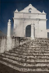 Smoke and steps, Chichicastenango Santo Domingo.
