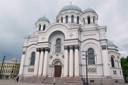 Kaunas, cathedral, anyone spots the boys?