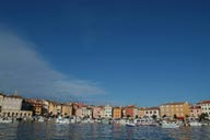 Rovinj. Old harbour.
