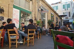 Cafe, Greek Nicosia.