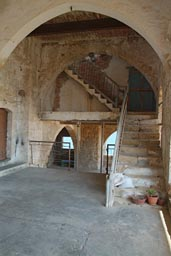 Apostel Andreas, Monastery, Stairs in need for renovation.