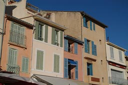 Houses of Cassis habour front.