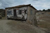 Chalkidiki, shed in ruins. Greece.