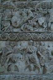 Thessaloniki, Relief on arch of Galerius.
